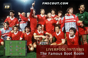Liverpool 1977-1985 - The Famous 'Boot Room'