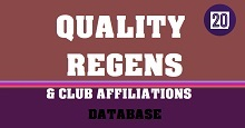 Quality Regens & Club Affiliations Database for FM20 ver 2.0