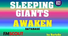FM20 Sleeping Giants Awaken Database