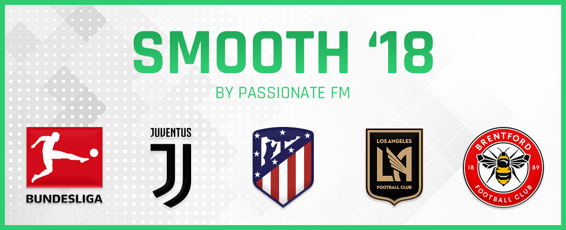 Football Manager 2018 Logo Packs - Smooth'18 Logos by Passionate FM