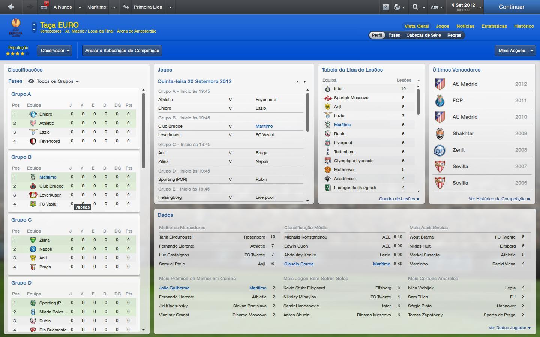 portugal league log