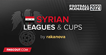 Syrian Leagues & Cups for FM 21