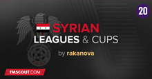 Syrian Leagues & Cups for FM 20 Including Youth League